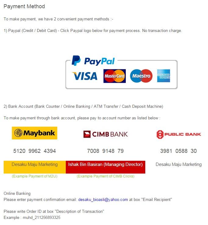 Buy Online Bio-Asli Product
